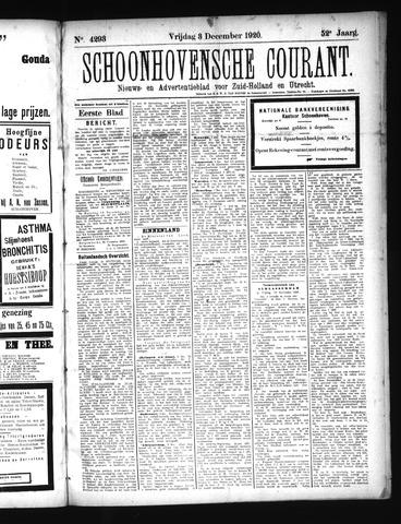 Schoonhovensche Courant 1920-12-03