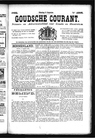 Goudsche Courant 1892-08-09