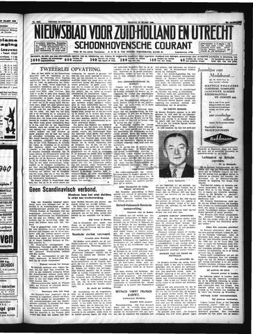 Schoonhovensche Courant 1940-03-22