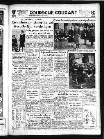 Goudsche Courant 1959-01-10
