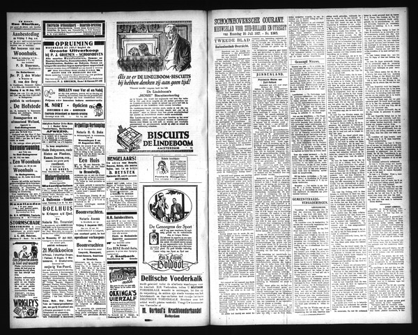 Schoonhovensche Courant 1927-07-27
