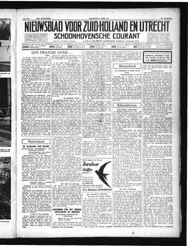 Schoonhovensche Courant 1937-04-14