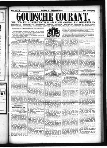 Goudsche Courant 1928-01-27