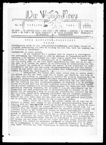 De Vrije Pers 1945-01-11