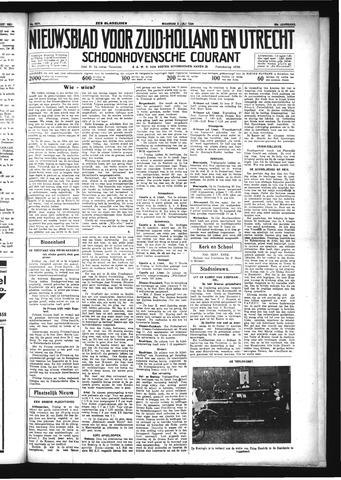 Schoonhovensche Courant 1934-07-02