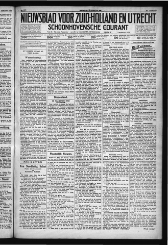 Schoonhovensche Courant 1930-08-13