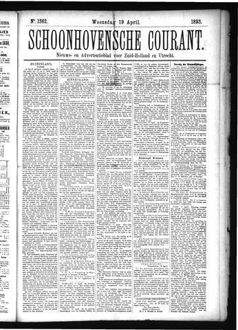 Schoonhovensche Courant 1893-04-19