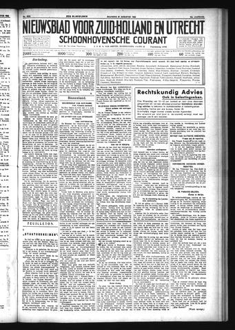 Schoonhovensche Courant 1933-08-21