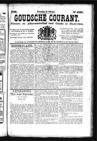 Goudsche Courant 1892-02-24