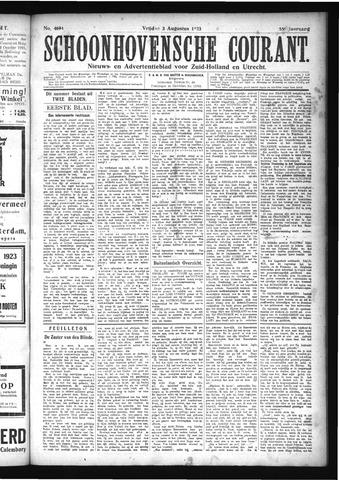Schoonhovensche Courant 1923-08-03