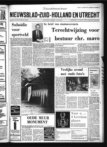 Schoonhovensche Courant 1977-02-11