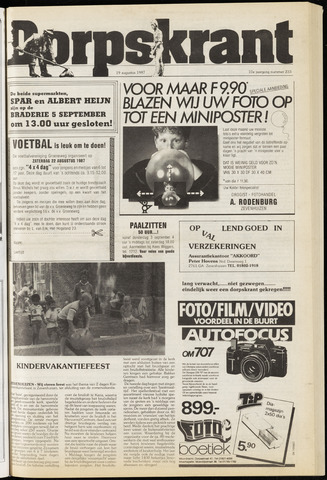 Dorpskrant 1987-08-19