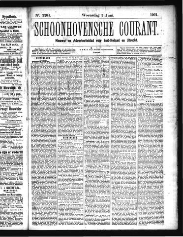 Schoonhovensche Courant 1901-06-05