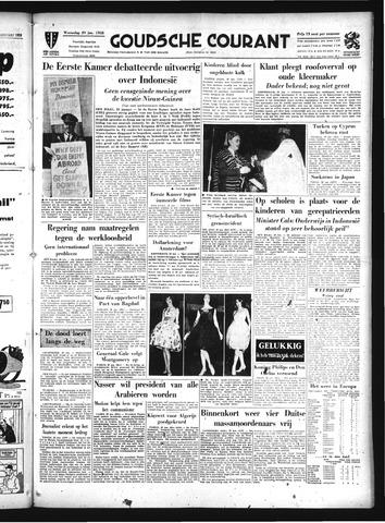 Goudsche Courant 1958-01-29