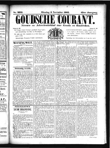 Goudsche Courant 1903-11-03