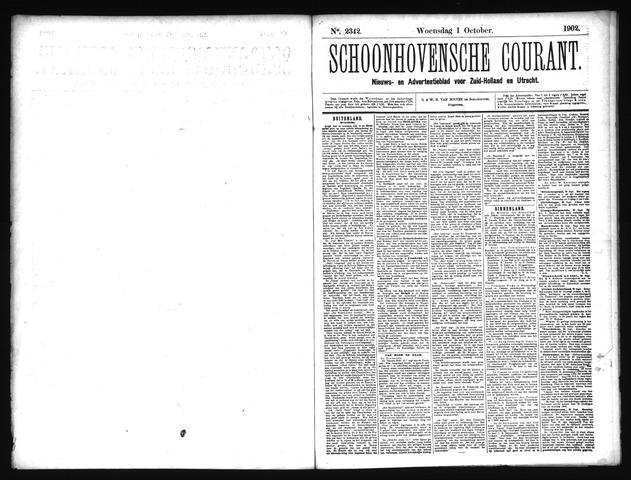 Schoonhovensche Courant 1902-10-01