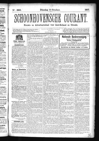 Schoonhovensche Courant 1917-10-09