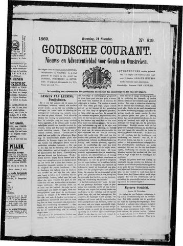 Goudsche Courant 1869-11-24