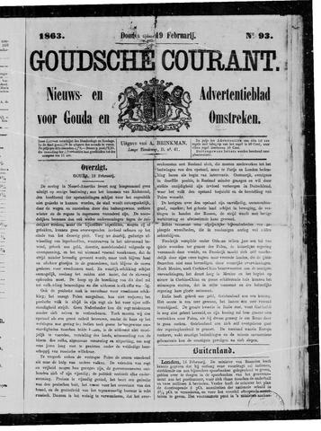 Goudsche Courant 1863-02-19