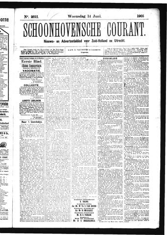 Schoonhovensche Courant 1905-06-14