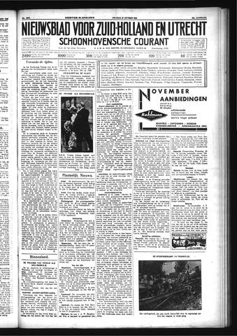 Schoonhovensche Courant 1933-10-27
