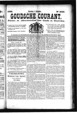 Goudsche Courant 1892-12-05