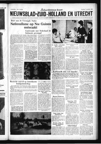 Schoonhovensche Courant 1960-11-07