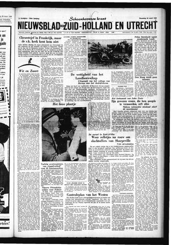 Schoonhovensche Courant 1960-03-30
