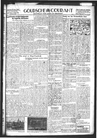 Goudsche Courant 1944-08-22