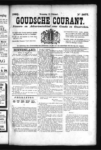 Goudsche Courant 1893-02-22