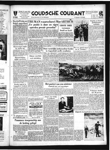 Goudsche Courant 1951-04-10