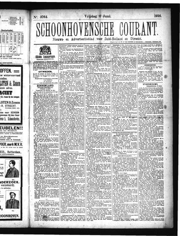 Schoonhovensche Courant 1916-06-02