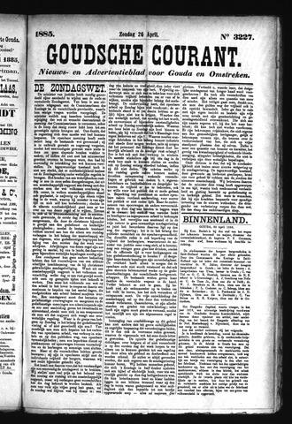 Goudsche Courant 1885-04-26