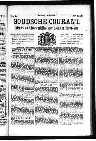 Goudsche Courant 1874-11-18