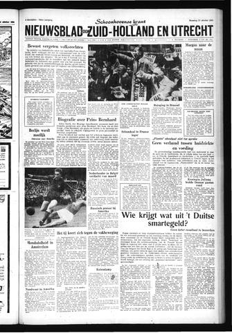 Schoonhovensche Courant 1962-10-15