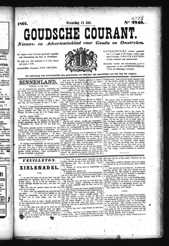 Goudsche Courant 1891-07-15