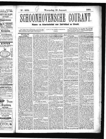 Schoonhovensche Courant 1902-01-22