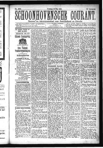 Schoonhovensche Courant 1922-05-19