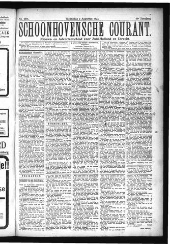 Schoonhovensche Courant 1922-08-02