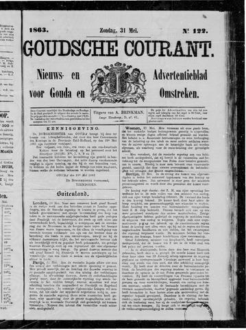 Goudsche Courant 1863-05-31