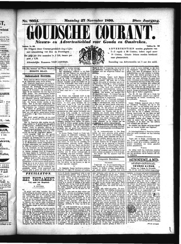 Goudsche Courant 1899-11-27