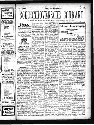Schoonhovensche Courant 1917-12-14