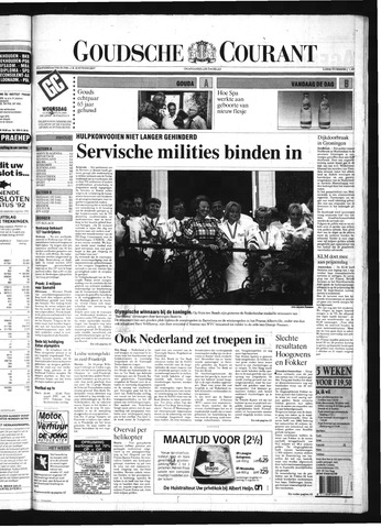 Goudsche Courant 1992-08-12