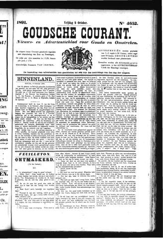 Goudsche Courant 1891-10-09