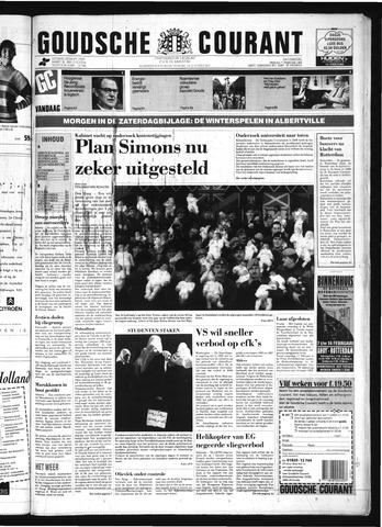Goudsche Courant 1992-02-07