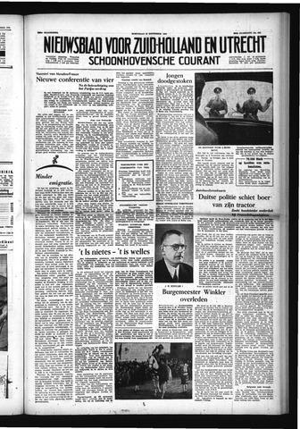 Schoonhovensche Courant 1954-11-24