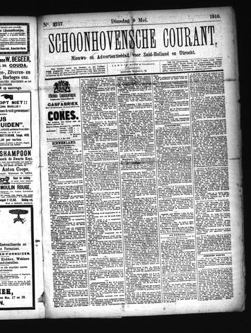 Schoonhovensche Courant 1916-05-09