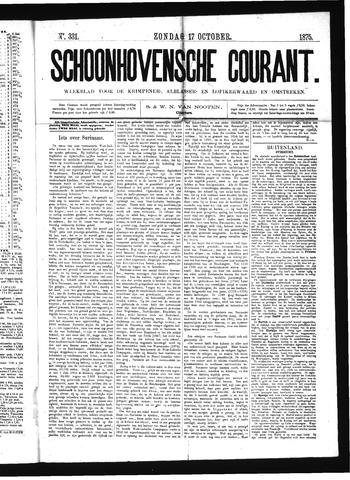 Schoonhovensche Courant 1875-10-17