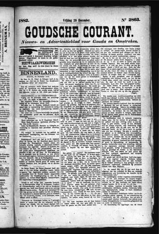 Goudsche Courant 1882-12-29