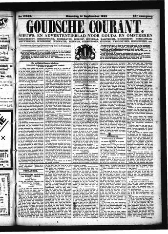 Goudsche Courant 1925-09-14